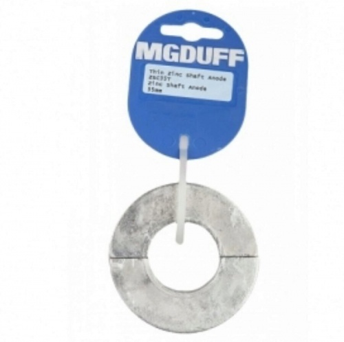 Zinc Shaft Collar Anode To Suit Dia 35MM X 18MM Thick