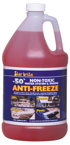 PG Anti-Freeze -50 degrees Gal. (Pink) 3.8ltr