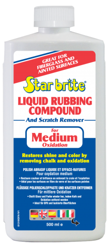 Liquid Rubbing Compound Medium - 500ml