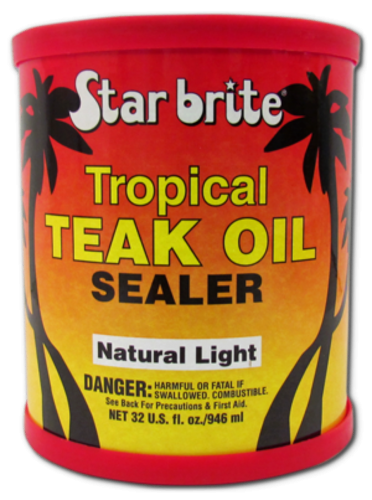 Star brite Tropical Teak Oil/Sealer Light 950ml