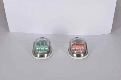Led Naviagationlights Ss Set (starboard+port)