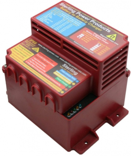 Battery to Battery Charger, Waterproof 12/12V 60A