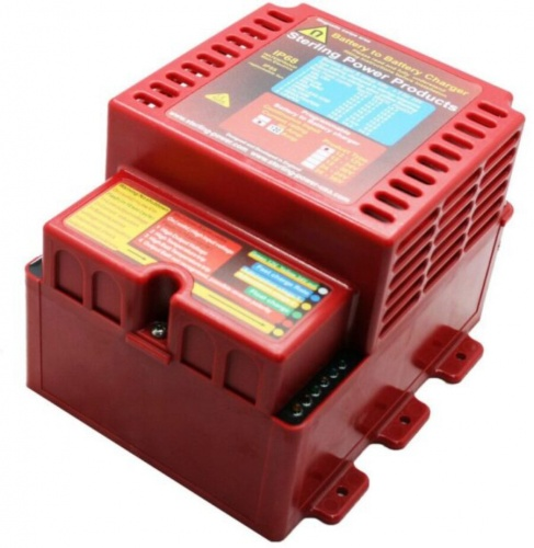 Battery to Battery Charger, Waterproof 12/12V 120A