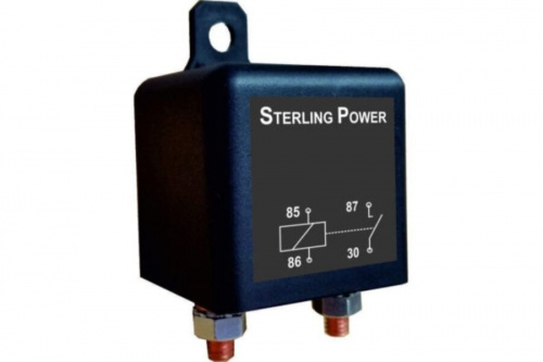 Conventional Ignition Fed Relays 24V 120A