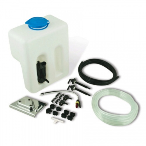 Complete Windshield Washer Kit for Deluxe Arms
