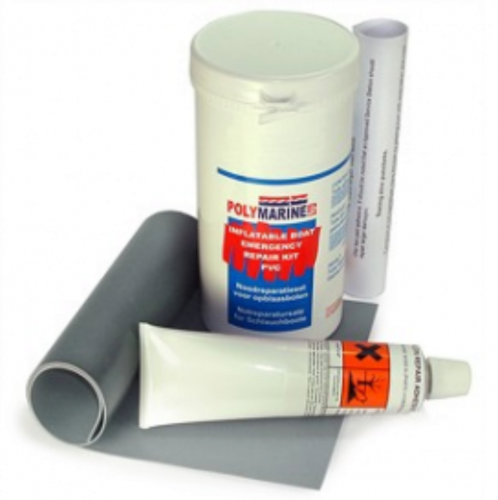 Hypalon Inflatable Boat Repair Kit -White