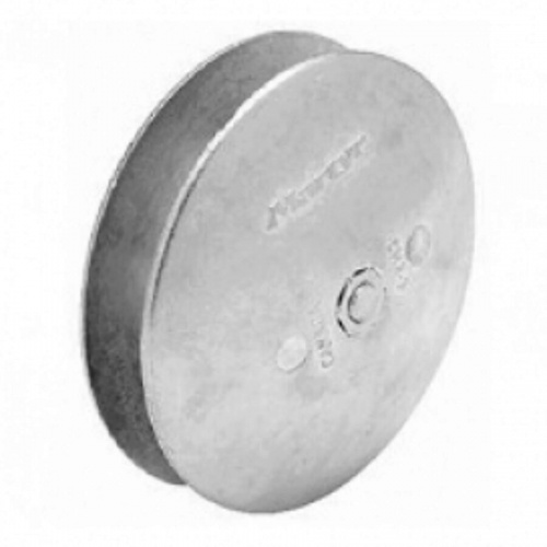 zinc Hull Anode disc (pair) 130mm dia X 44mm thick