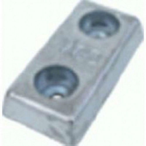 Bolt On Zinc Hull Anode - 4 KGS NOM NETWEIGHT 110 MM Bolt Centres, M16 40ZHD