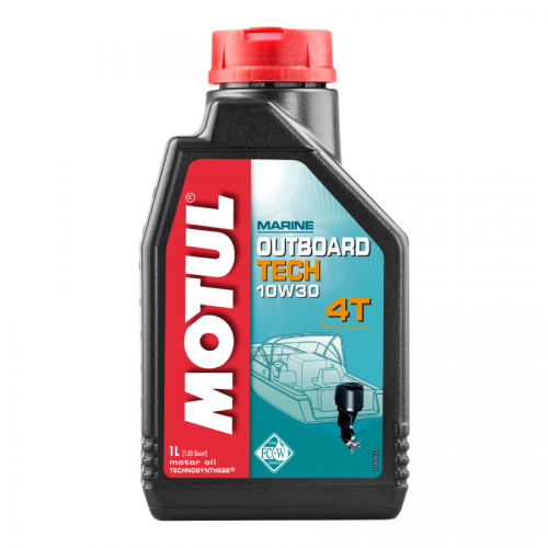 10W30 OUTBOARD TECH 4-STROKE OIL - 1L