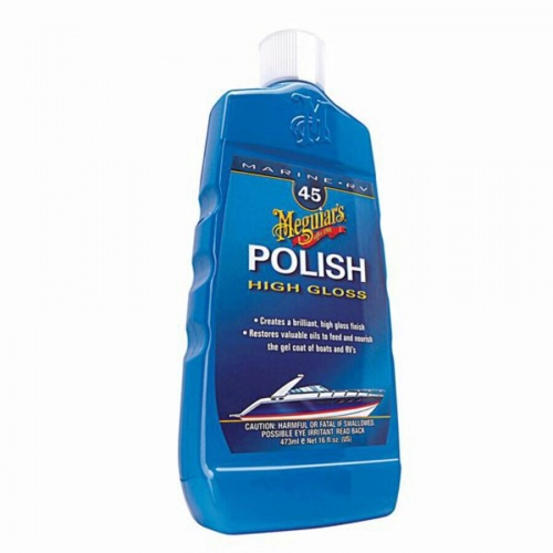 MEGUIARS HIGH GLOSS POLISH - 473ML