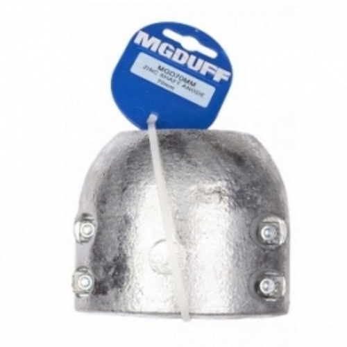 Zinc Shaft Anode With Insert Anode To Suit 70MM Dia
