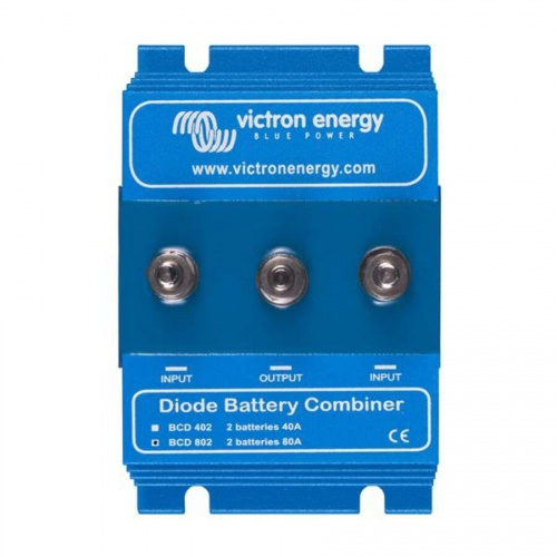 Victron Energy Bcd 802 Battery Combiner - 2 Batteries 80a