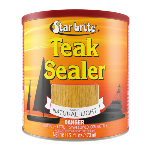 Star brite Tropical Teak Oil/Sealer Light - 3.78L
