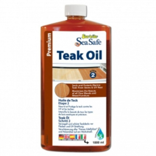 Star brite Sea-Safe Teak Oil Low VOC 1ltr