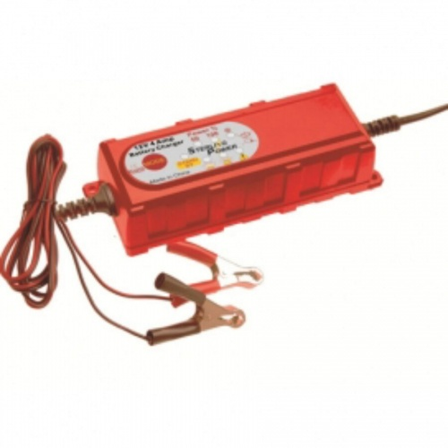 4A 12V Portable Battery Charger