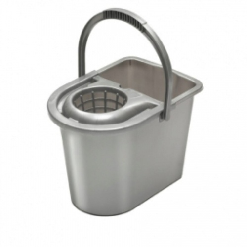 Mop bucket with ringer - plastic