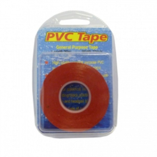 20m x 19mm - White Flame Retardant High Quality PVC Tape