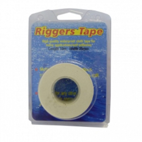 10m x 25mm - Silver Riggers Tape