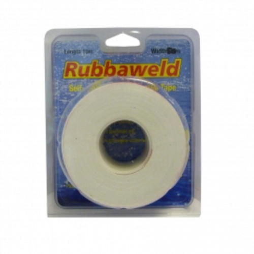 10m x 50mm White Rubbaweld Self Amalgamating Tape