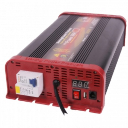 Pure Sine Wave Inverter 12V 1000W RCD