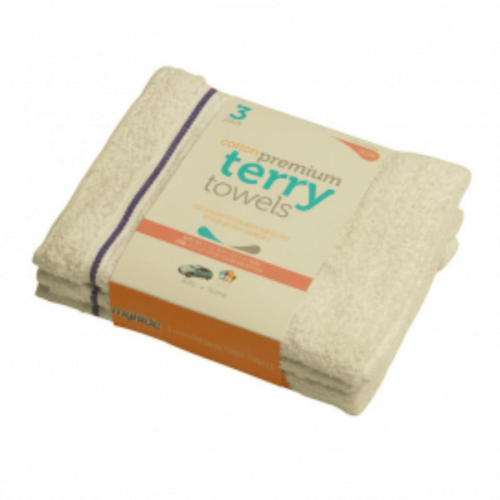 Terry Towel 3 pk