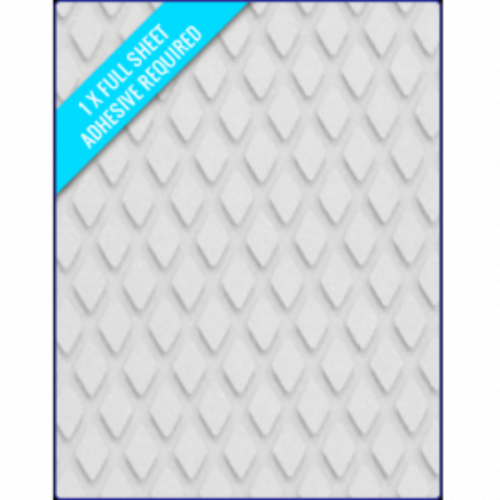 WHITE SAND - Original Sheets DiamondPattern 1200x900x3/2mm