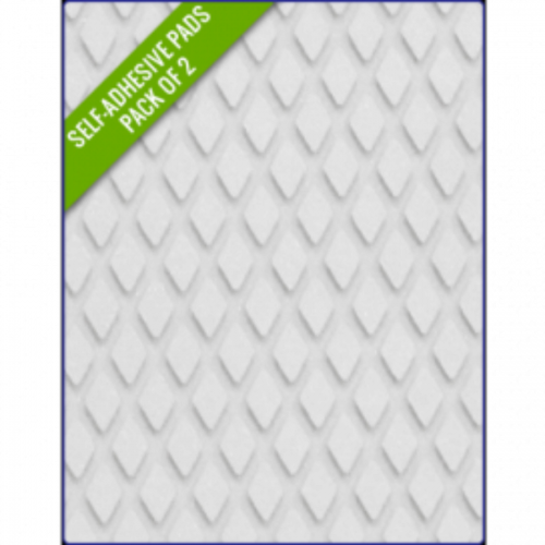 WHITE SAND - Original Step Pads DiamondPattern 275x130x3/2mm