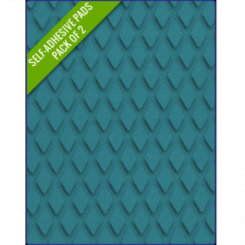 BLUE - Original Step Pads DiamondPattern 275x130x3/2mm