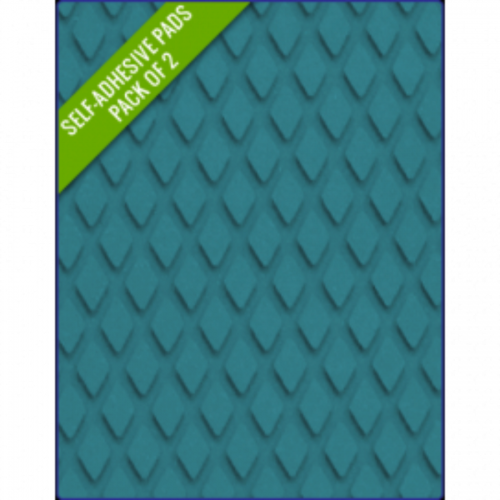 BLUE - Original Step Pads DiamondPattern 412x203x3/2mm