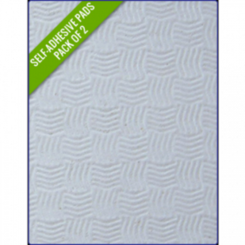 WHITE SAND - Original Step Pads Smooth Pattern 412x203x3/2mm