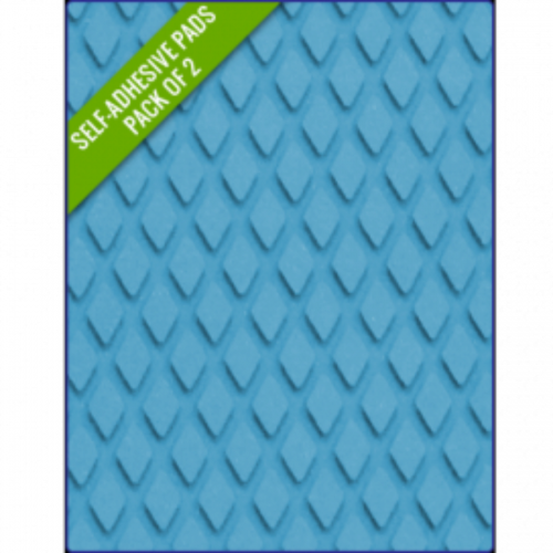 LIGHT BLUE - Original Step Pads DiamondPattern 275x130x3/2mm