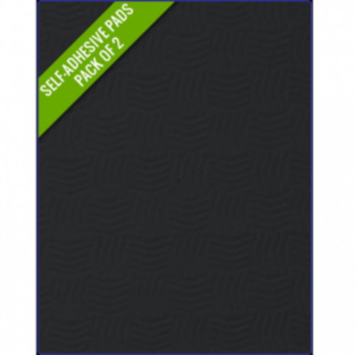 BLACK - Original Step Pads Smooth Pattern 412x203x3/2mm