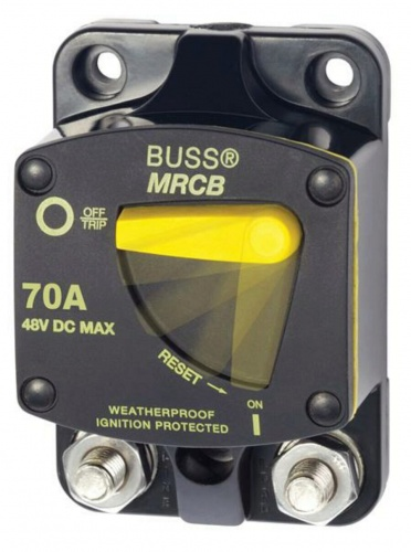 Blue Sea 187 Surface Mount Circuit Breaker 70a