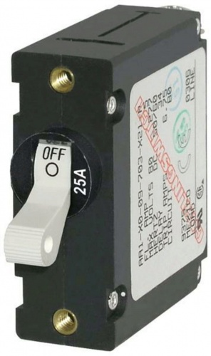 Blue Sea Circuit Breaker 25a White