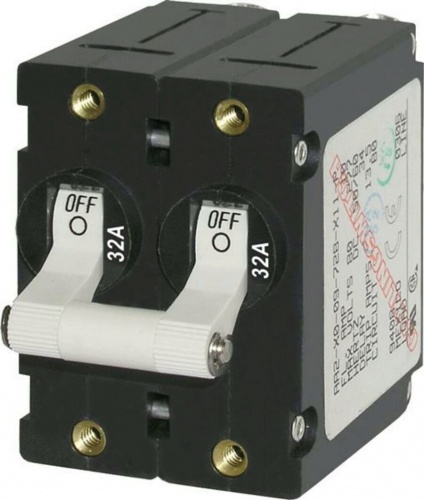 Blue Sea Circuit Breaker Double Pole 32amp