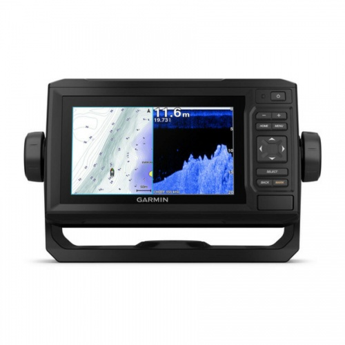 Garmin Echomap PLUS 65cv Combi Display With UK Charts  (No Transducer)