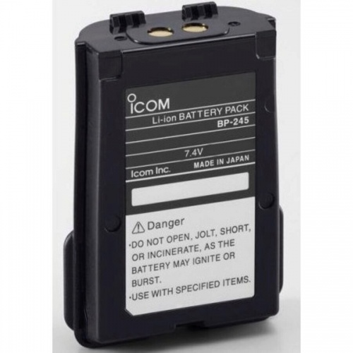 Icom Bp-245h 7.4v 2000mah Li-ion Battery Pack For Ic-m73