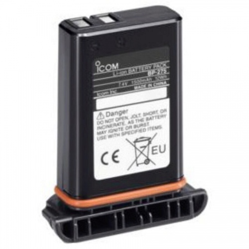 Icom Bp275 7.4v/1500mah Li-ion Battery Pack For Icom M91d