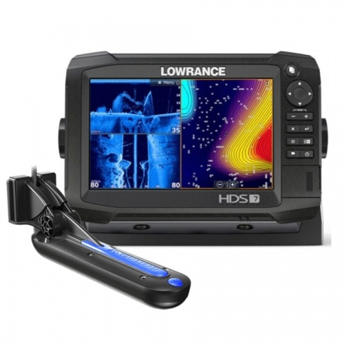 Lowrance HDS-7 Carbon ROW with Med/High/TotalScan Transducer Bundle