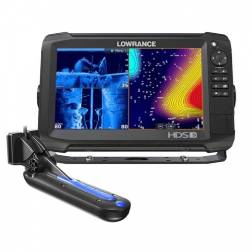 Lowrance HDS-9 Carbon ROW with Med/High/TotalScan Transducer Bundle