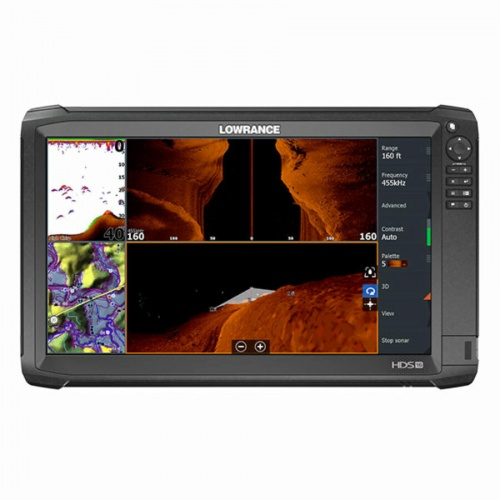 Lowrance HDS-16 Carbon ROW with TotalScan Transducer Bundle