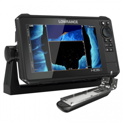 Lowrance HDS-9 LIVE with Active Imaging 3-1 Transom Mounted Transducer