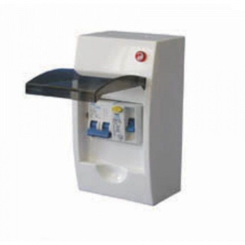 Mains RCD 30mA Consumer Unit With Breakers