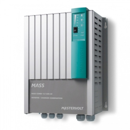 Mastervolt Mass Combi 12v/1600W/60A Inverter/Charger With MasterBus