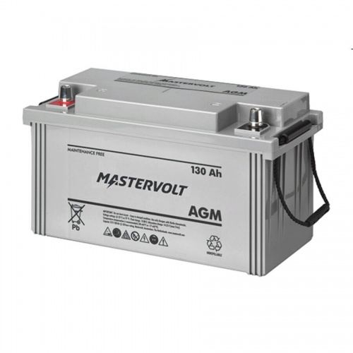 Mastervolt AGM Battery 12v/130Ah