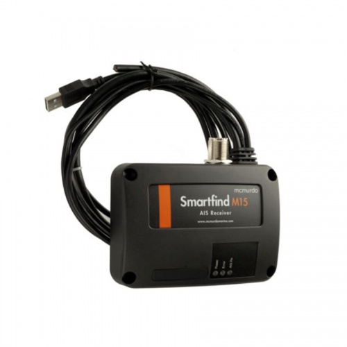 MCMURDO Smartfind M15S Dual Channel AIS Receiver with Splitter