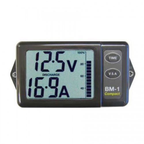 NASA Battery Monitor - Compact - Grey (24VDC)
