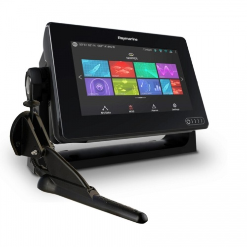 Raymarine Axiom 7 DV - 7 Inch Multi Function Display With DownVision 600W Sounder With CPT-100DVS DownVision TR