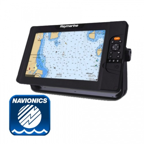 Raymarine Element 12S Plotter / Chirp Sounder With Navionics Silver Chart (No Transducer)