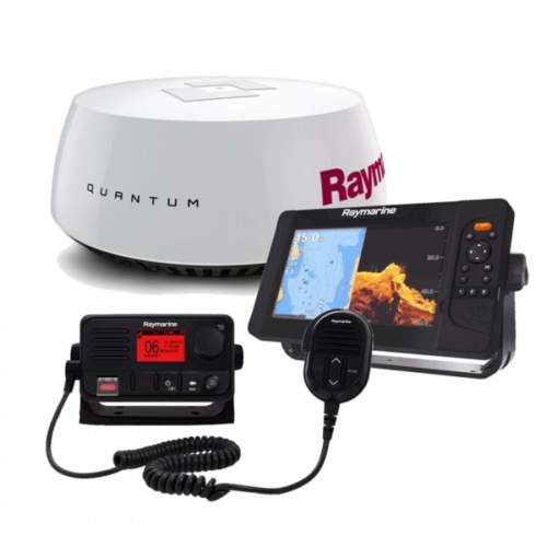Raymarine Element 9S System Pack cw Ray 53 VHF & Quantum Radar